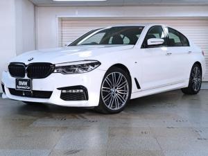 BMW 5シリーズ 523d Mスポーツ ブラックグリル カーボンリアスポイラー BMW認定中古車1年保証 19インチAW