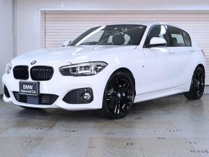 BMW 1シリーズ 118i Mスポーツ エディションシャドー アクティブクルーズ Fシートヒーティング ブラックグリル BMW認定中古車 18AW