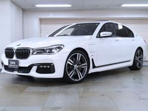 BMW 7シリーズ 740eアイパフォーマンス Mスポーツ BMW認定中古車1年保証 黒革 20インチAW