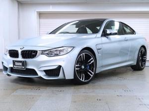 BMW M4 M4クーペ BMW認定中古車1年保証 カーボンファイバートリム 黒革 19インチAW