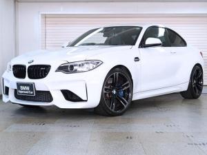 BMW M2 ベースグレード BMW認定中古車1年保証 ハーマンカードン 黒革 19インチAW
