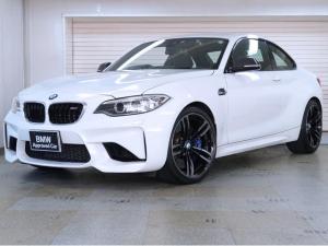 BMW M2 ベースグレード BMW認定中古車 1年保証 アダプティブヘッドライト カーボンミラーカバー カーボントランクスポイラー 黒革 19インチAW