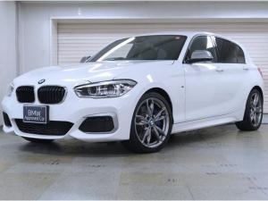 BMW 1シリーズ M140i BMW認定中古車 1年保証 パーキングサポートパッケージ 黒革 18インチAW