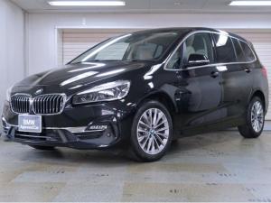 BMW 2シリーズ 218dグランツアラー ラグジュアリー 白革 アドバンスドアクティブセーフティーパッケージ コンフォートパッケージ ヘッドアップディスプレイ オートトランク アクティブクルーズ 17AW