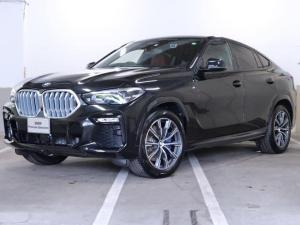BMW X6 xDrive 35d Mスポーツ 赤革 プラスパッケージ コンフォートパッケージ クラフテッドクリスタルフィニッシュ 4ゾーンエアコン ストライプブラウンファインウッドインテリアトリム  20AW