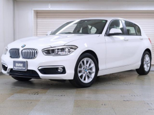 BMW 1シリーズ 118i スタイル パーキングサポートP クルーズコントロール ドライビングアシスト リヤビューカメラ リヤPDC 16AW BMW認定中古車