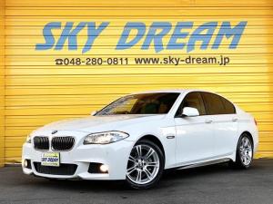 BMW 5シリーズ 528i Mスポーツパッケージ 黒レザーシート ナビ地デジ