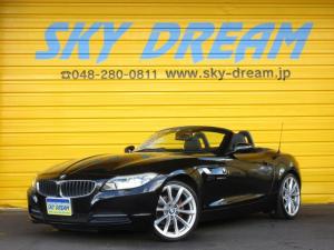 BMW Z4 sDrive20i ハイラインパッケージ 黒レザーシート HDDナビ 地デジ バックカメラ キセノン プッシュスタート ETC パワーシート シートヒーター パドルシフト 19AW 電動オープン