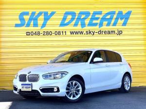 BMW 1シリーズ 118d スタイル 1オーナー ハーフレザーシート 後期型Iドライブ インテリジェントセーフティ 純正ナビ バックカメラ ETC LEDヘッドライト 純正16AW バックソナー アイドリングストップ クルーズコントロール