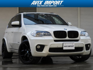 BMW BMW X5 xDrive 35i MスポーツP パノラマ 黒革 7人乗り