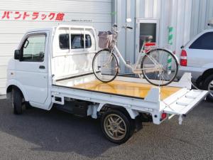 スズキ キャリイトラック バイク運搬積載車キャリアカー重量物固定低アオリETCナビPS
