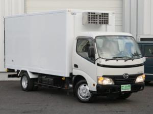 日野 デュトロ 2t標準幅ロングパネルバン自治体給食センター上り 冷凍冷蔵車