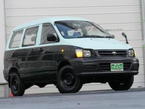 トヨタ タウンエースバン ハイDX 4駆 5速MT NOXpm適合 5ドア 5人乗 ハイルーフ4WD ガソリンエンジン7K タイミングベルトレスエンジン 最大積載量750kg 4ナンバー貨物車 車検対応スタッドレスタイヤ付 マニュアル車