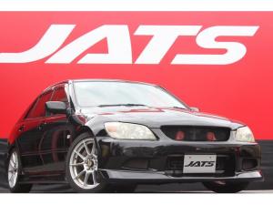 トヨタ アルテッツァ RS200 Zエディション 社外エアロ ローダウン 社外アルミ ブリット製フルバケットシート