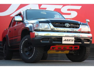 トヨタ ハイラックススポーツピック  4WD トノカバー BFグットリッチタイヤ 社外ナビ ETC