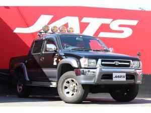 トヨタ ハイラックススポーツピック ダブルキャブ ワイド 4WD サンルーフ 社外オーディオ