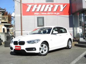 BMW 1シリーズ 118d スポーツ HDDナビバックカメラ 衝突軽減 LED