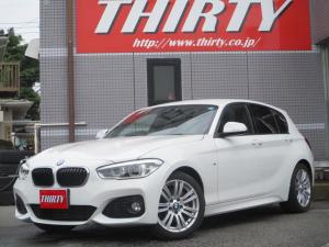 BMW 1シリーズ 118i Mスポーツ 衝突軽減ブレーキ LEDライト ナビ