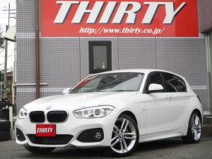 BMW 1シリーズ 118d Mスポーツ オプション18インチアルミホイール LEDライト 衝突軽減ブレーキ バックカメラ