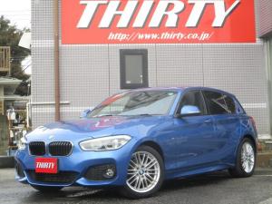 BMW 1シリーズ 118d Mスポーツ コンフォートアクセス パーキングサポートPKG レーダー探知機 リアエアコン シートヒーター タッチパネルナビカメラ