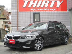 BMW 3シリーズ 320d xDriveツーリング Mスポーツ 18AW ACC パーキングアシスト ハーフレザー 置くだけ充電 後進アシスト