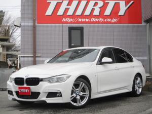 BMW 3シリーズ 320i Mスポーツ サンルーフ 地デジTV レーンチェンジウォーニング 18AW