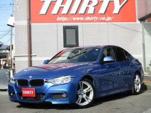 BMW 3シリーズ 320d Mスポーツ LEDライト 後期型 ACC 衝突軽減ブレーキ レーンディパーチャーウォーニング Mスポーツ純正18AW