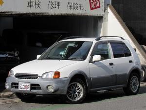 トヨタ スターレット リミックス 4WD 5速MT 背面タイヤ ルーフレール 社外アルミ タイミングベルト交換