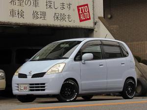 日産 モコ C ロ-ダウン 新品12インチデイトナホイール 新品ホワイトレタータイヤ ドアバイザー キーレス 社外マフラー