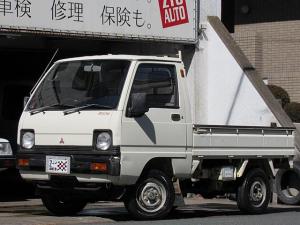 三菱 ミニキャブトラック ベースグレード パートタイム4WD 4速マニュアル 未再生原型車