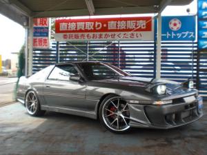トヨタ スープラ 2.5GTツインターボR 純正MT車 オリジナルカラー 20インチAW 車高調 エアロ マフラー インタークーラー ナビTV 鑑定書