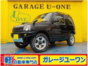 スズキ ジムニー ランドベンチャー F5速 4WDターボ キーレス ETC アルミ ハーフレザー CD