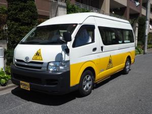 トヨタ ハイエースコミューター 幼児バス 大人4名幼児18名乗り オートステップ 非常口