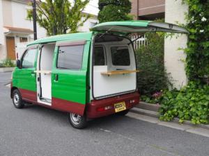 ダイハツ ハイゼットカーゴ ハイルーフ キッチンカー 移動販売車 シンク2個口