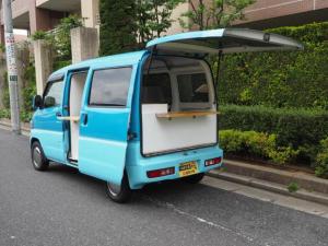 三菱 ミニキャブバン 移動販売車 キッチンカー シンク2個口
