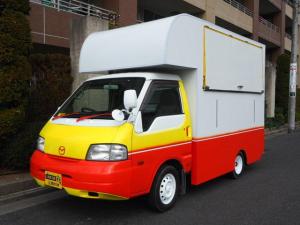 マツダ ボンゴトラック  移動販売車 キッチンカー ケータリングカー 両側販売口 カウンター差し込み左右有 シンク 100Vコンセント ブレーカー付き