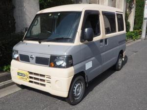 日産 NV100クリッパーバン DX 移動販売車 キッチンカー ケータリング車 シンク2個付き 水ポンプ2個付き カウンター2セット付