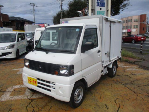 三菱 ミニキャブトラック 冷蔵冷凍車-5℃表示