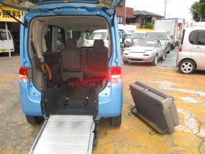 ダイハツ タント X スローパー 車いす1台電動固定 リアシート取外可能 キーレスエントリー 左側パワースライドドア