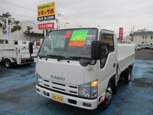 いすゞ エルフトラック 2.0tフルフラットローSG垂直PG600kg 10尺