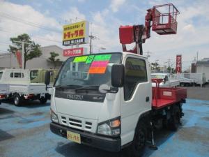 いすゞ エルフトラック 0.5t標準 高所作業車 高床