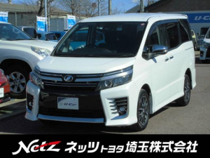 トヨタ ヴォクシー ZS 煌II 4WD 8人乗り 10インチナビ 後席モニタ-