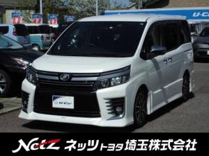 トヨタ ヴォクシー ZS 煌II BIG-X11インチナビ ローダウン