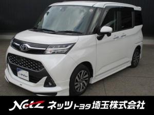 トヨタ タンク カスタムG S SDナビ・後席モニター