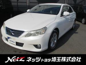 トヨタ マークX 250G リラックスセレクション 純正HDDナビ
