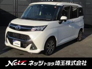 トヨタ タンク カスタムG-T 純正SDナビ・両側電動スライドドア