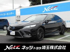 トヨタ カムリ WSレザーパッケージ 元当社社用車・衝突被害軽減ブレーキ