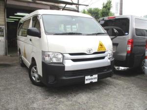 トヨタ ハイエースワゴン  幼児バス オートステップ SDナビ Bカメラ ドライブレコーダー 普通免許