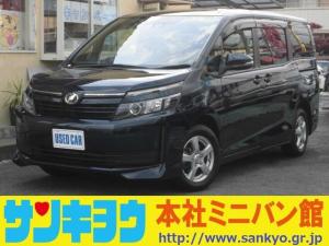 トヨタ ヴォクシー X トヨタセーフティセンス ナビTV Bluetooth 左自動ドア バックカメラ リアモニター インテリキー LEDヘッドライト インテリキー フルセグ ETC 除菌