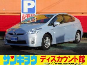 トヨタ プリウス S 純正ナビTV バックカメラ ETC 電動コーナーポール